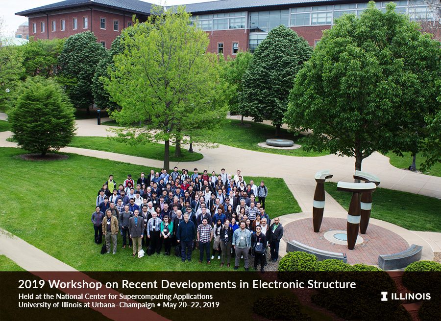 Electronic Structure Workshop -- Group Photo